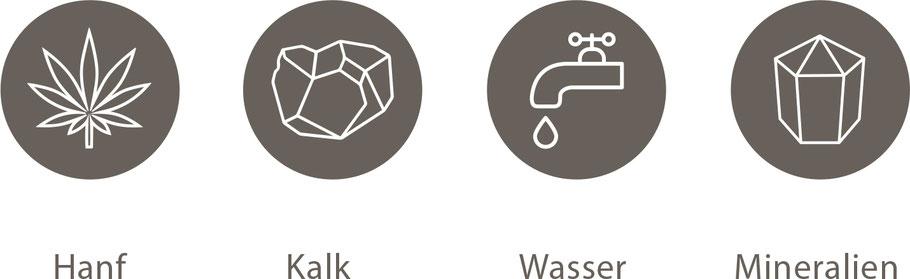 Hanf, Kalk, Wasser, Mineralien: natürlich dämmen mit Hanfbeton