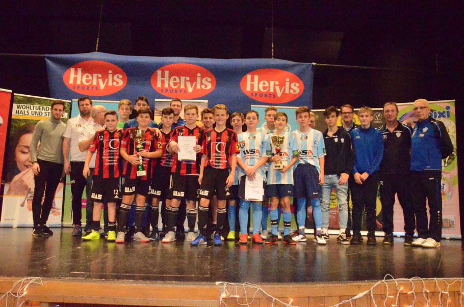 TOP 2 - Sieger: SK Fürstenfeld - 2. Platz: JUNIORS Hartberg II