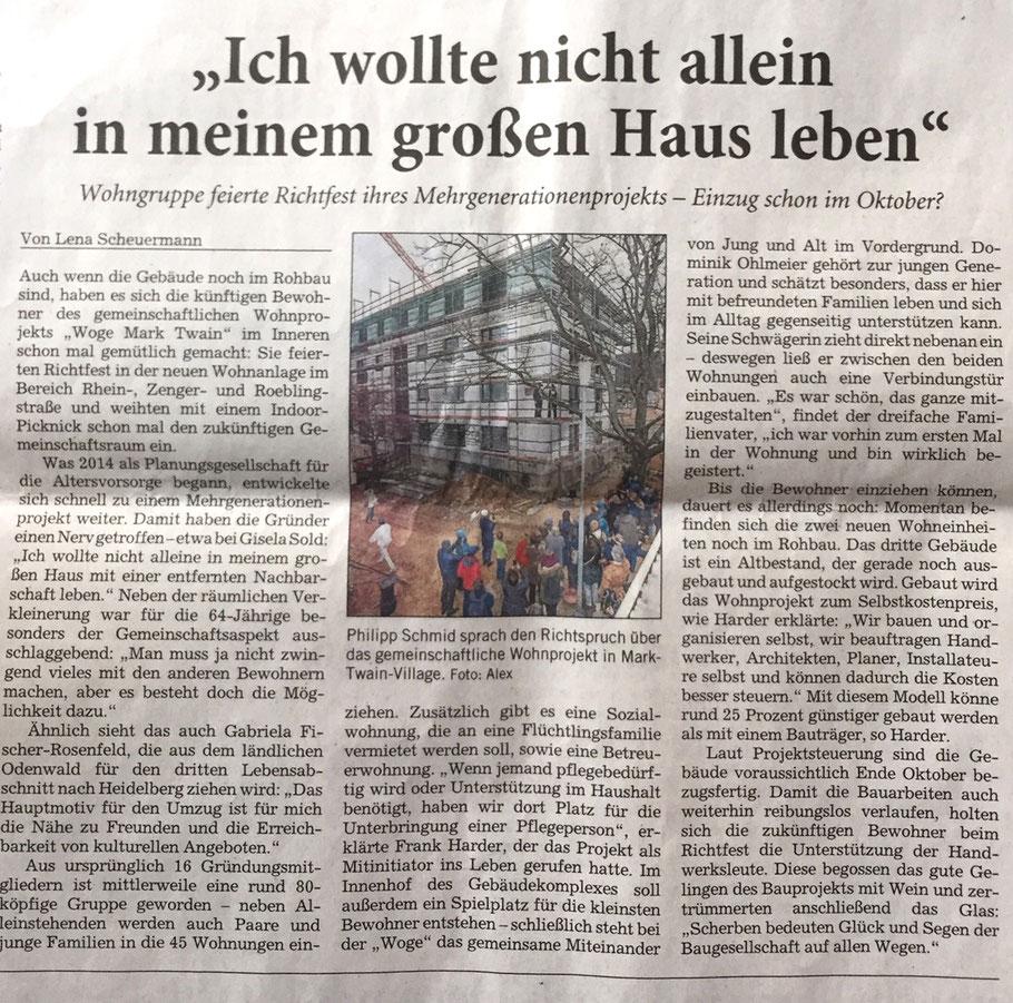 Rhein-Neckar-Zeitung, 13.03.2019