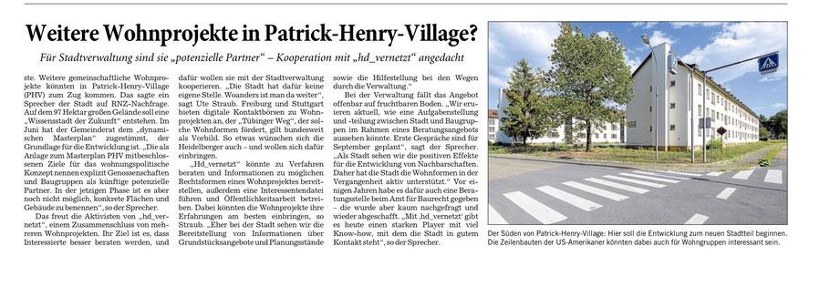 Rhein-Neckar-Zeitung, 17.9.2020