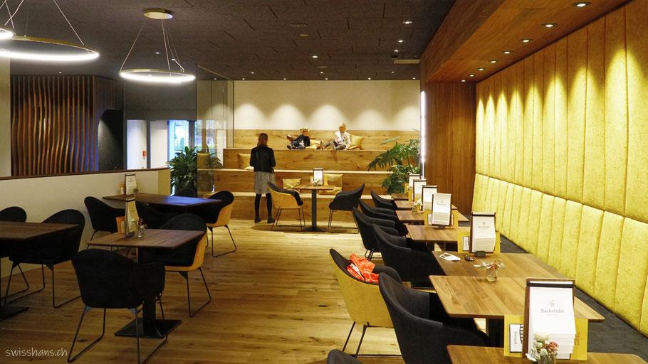 Innenaufnahme vom Café Backstube Widnau