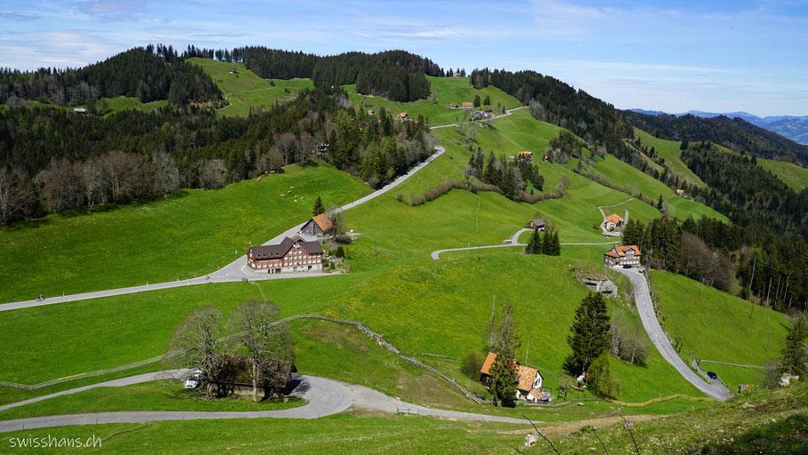 Landmark am Ruppenpass oberhalb Altstätten im Rheintal