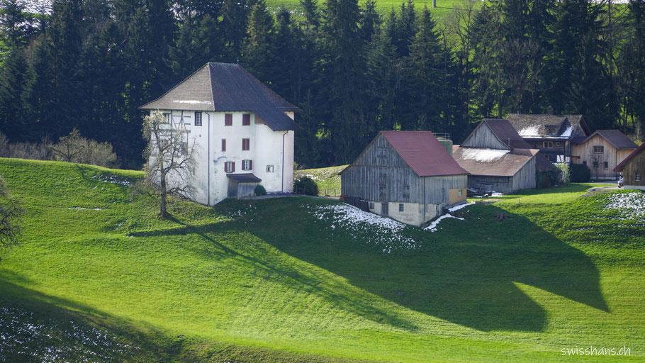 Schlössli Buecholz bei Berneck im Rheintal