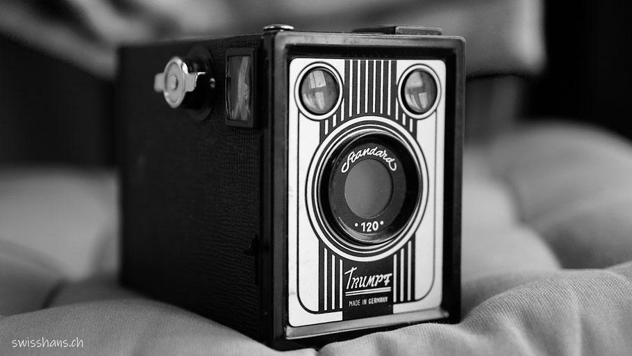 Antike Kamera von Hans Köppel