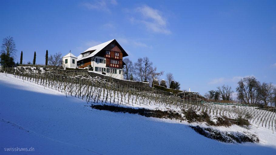 Gutshaus beim Schloss Werdenberg in Buchs