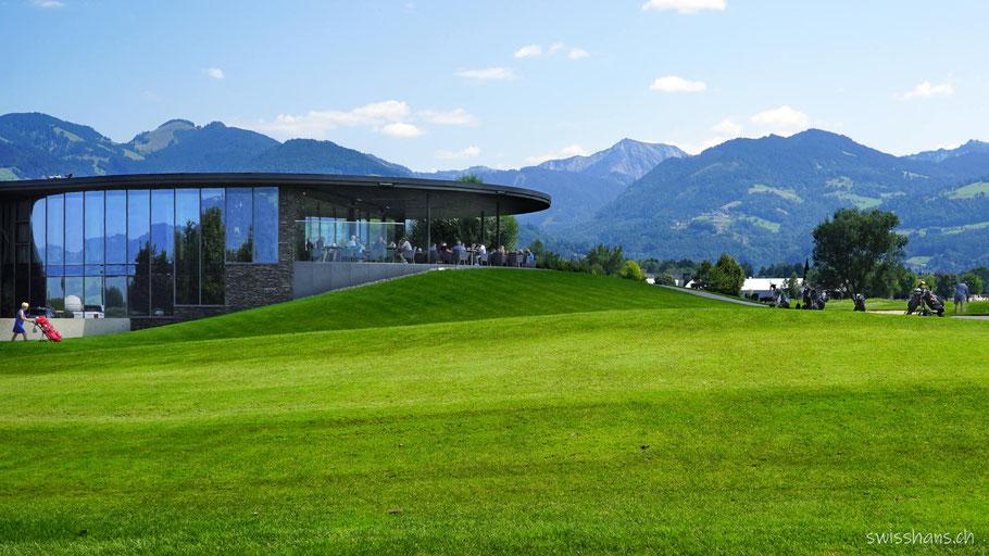 Panoramaterrasse Golfclub Rankweil
