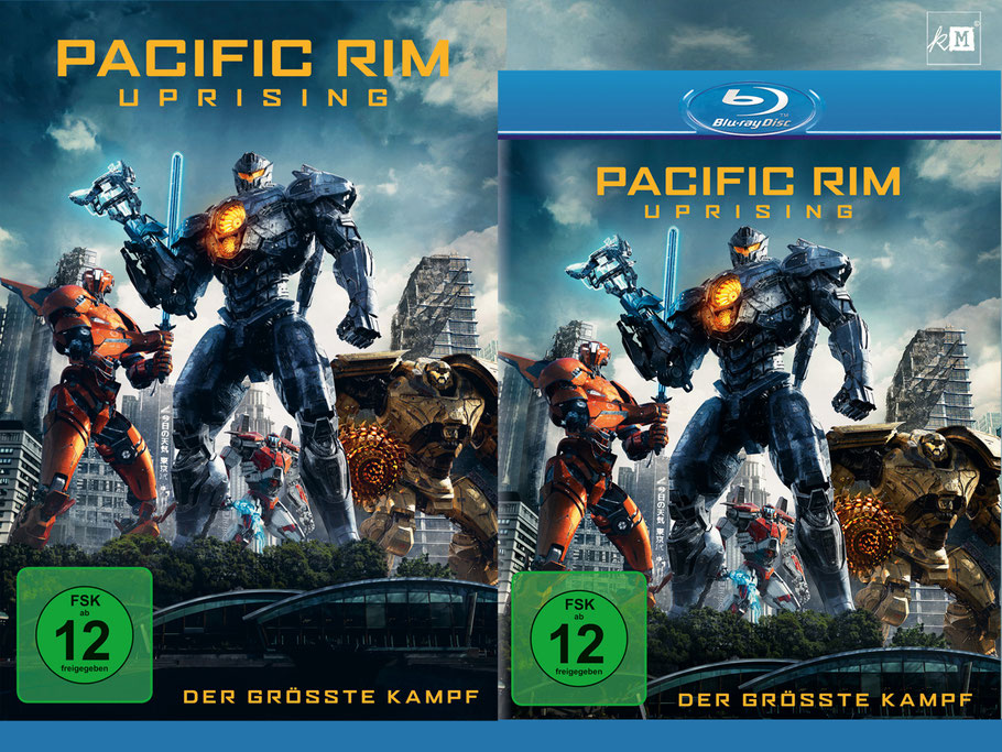 Pacific Rim Uprising Blu-ray - Universal Home Entertainment - kulturmaterial