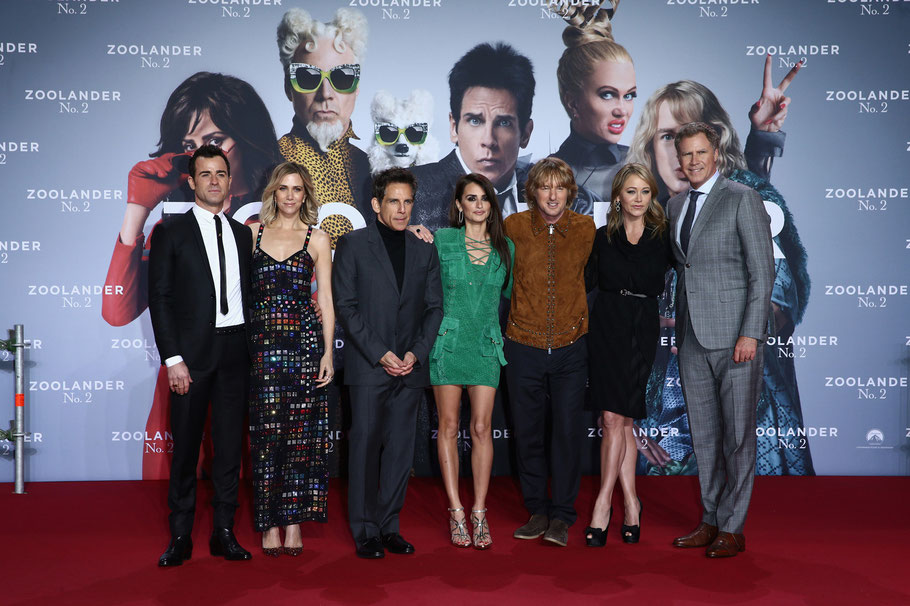 Justin Theroux - Kristen Wiig - Ben Stiller - Penelope Cruz - Owen Wilson - Christine Taylor - Will Ferrell - Andreas Rentz - Getty Images - Paramount - kulturmaterial