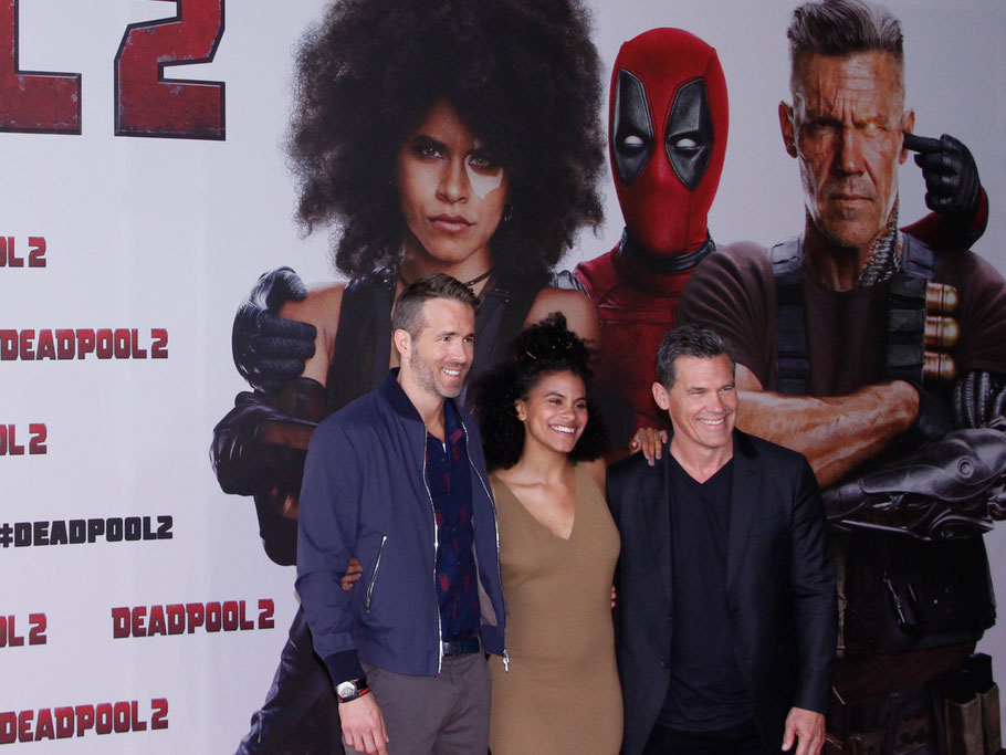 Deadpool 2 - Ryan Reynolds - Josh Brolin - Zazie Beetz - Pressekonferenz Berlin - Credit Paul Grunow - kulturmaterial