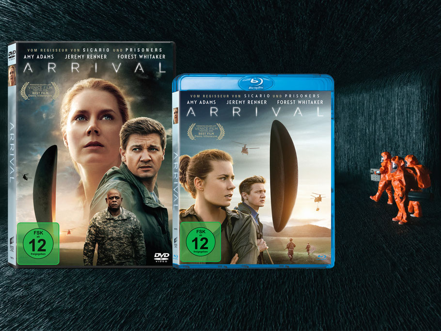 Science-Fiction - ARRIVAL Blu-ray DVD - Sony Home Entertainment - kulturmaterial
