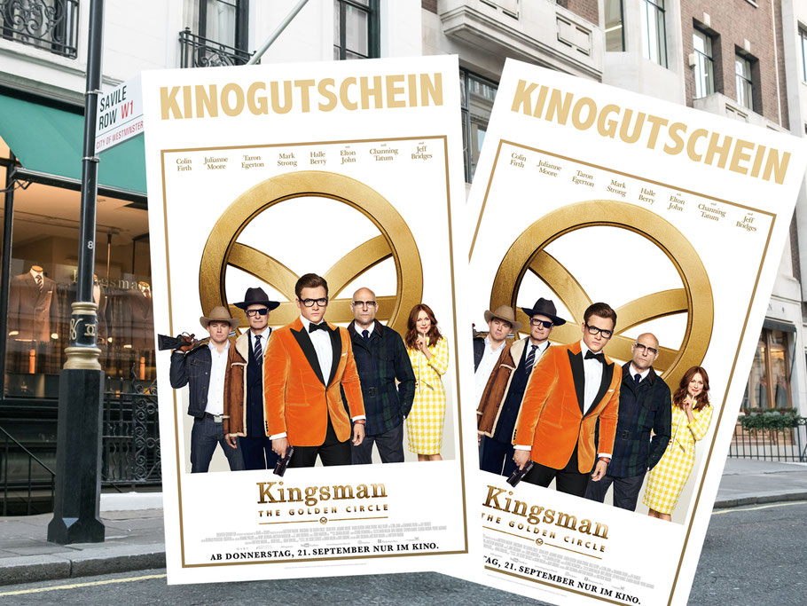 Kingsman Golden Circle Verlosung - Fox - kulturmaterial