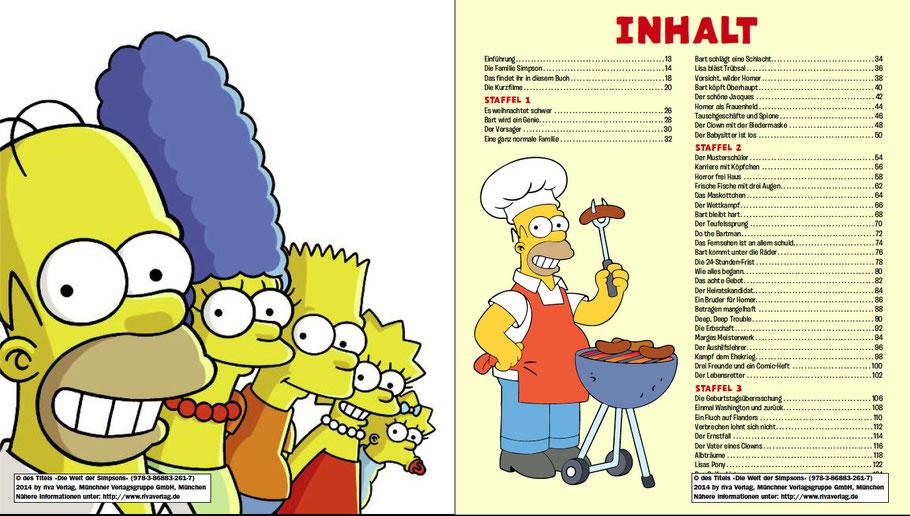 Simpsons Buch-Die Welt der Simpsons-Riva-MVG-Inhalt-1-kulturmaterial