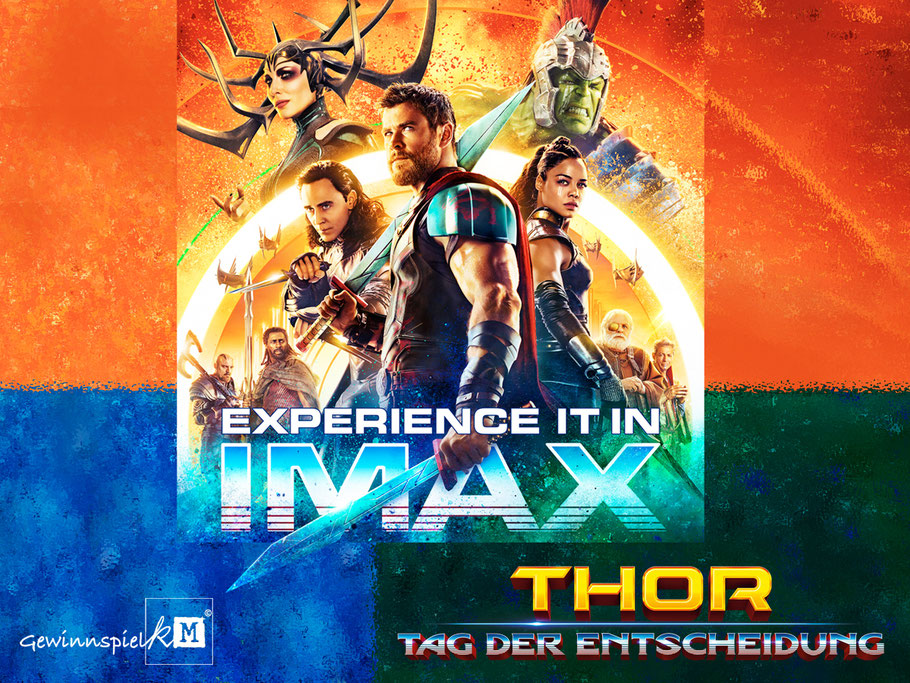 Thor 3 Tag Der Entscheidung - Marvel - Imax - kulturmaterial