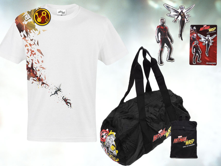 ANT-MAN AND THE WASP - Marvel - kulturmaterial - Gewinnspiel Fanpaket