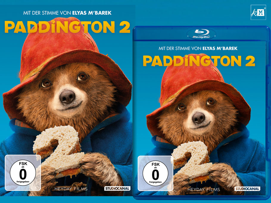 Paddington 2 Blu-ray - Michael Bond - Film - Studiocanal - kulturmaterial