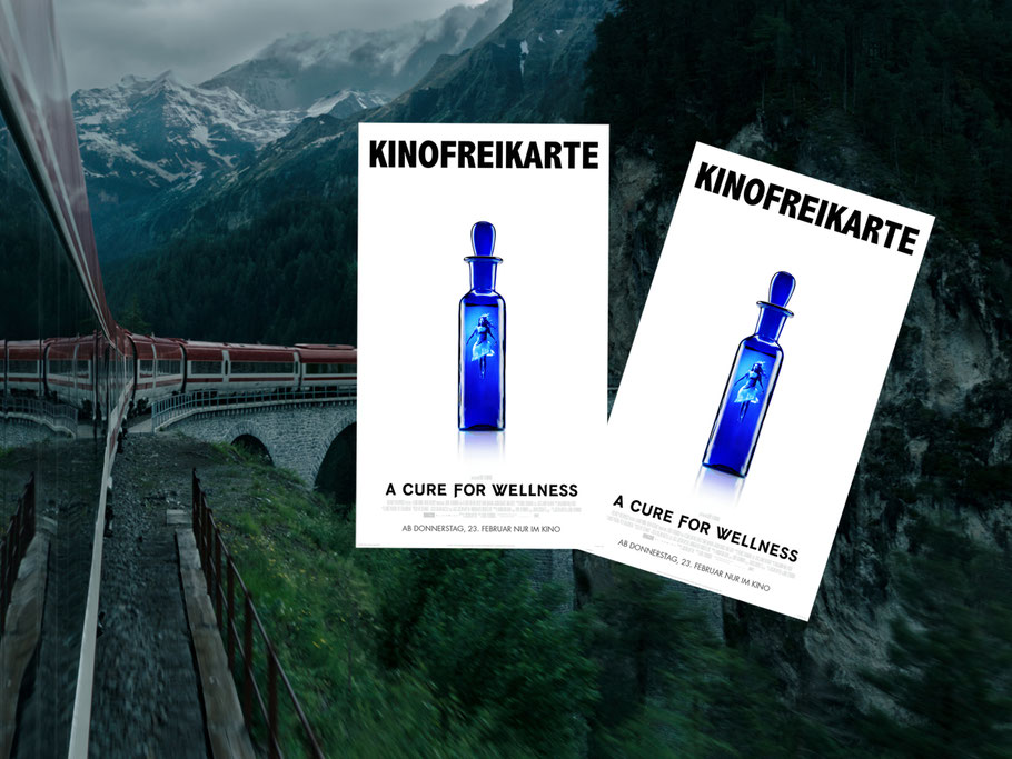 A Cure For Wellness - FOX - kulturmaterial - Gewinnspiel
