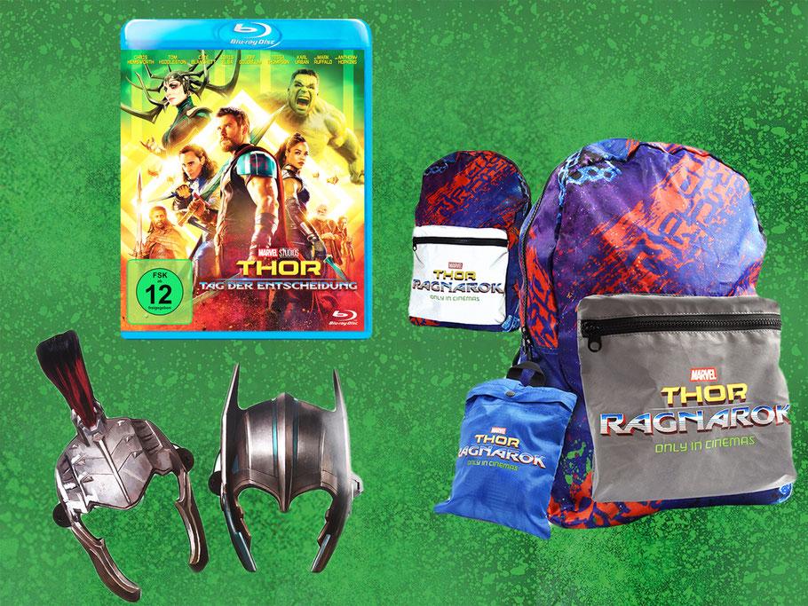 Thor Tag Der Entscheidung Ragnarok Blu-ray - Marvel - kulturmaterial - Gewinnspiel