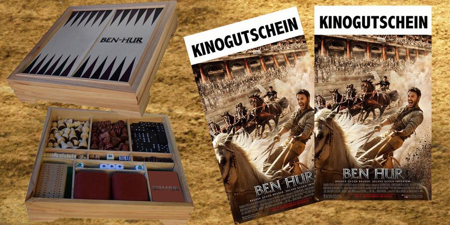 Morgan Freeman - Ben Hur - Paramount - kulturmaterial - Gewinnspiel - Fanartikel