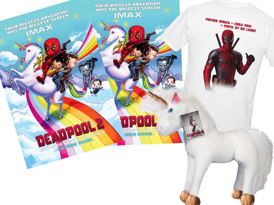 Deadpool 2 Ryan Reynolds Gewinnspiel - Marvel - FOX - kulturmaterial
