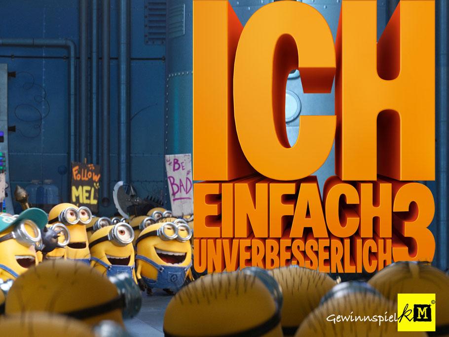 ICH EINFACH UNVERBESSERLICH 3 - Universal Pictures - kulturmaterial