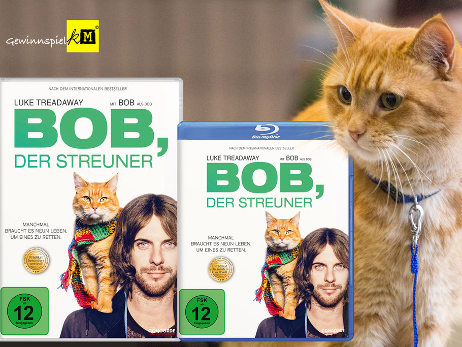 BOB DER STREUNER Film - CONCORDE - kulturmaterial