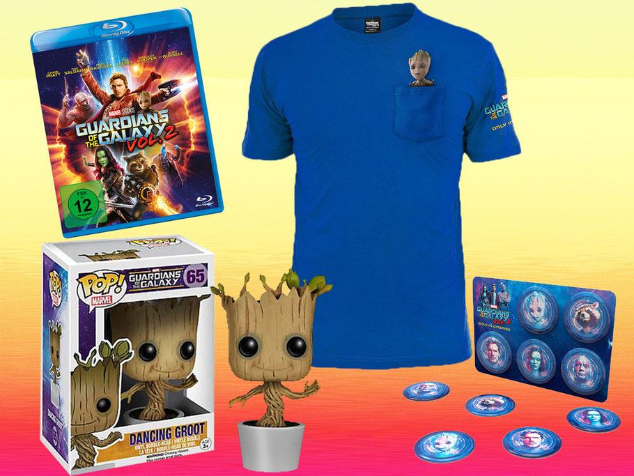 Guardians Of The Galaxy 2 Blu-ray Gewinnspiel - Marvel - kulturmaterial