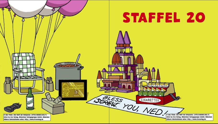 Simpsons Buch-Die Welt der Simpsons-Riva-MVG-Staffel 20-kulturmaterial