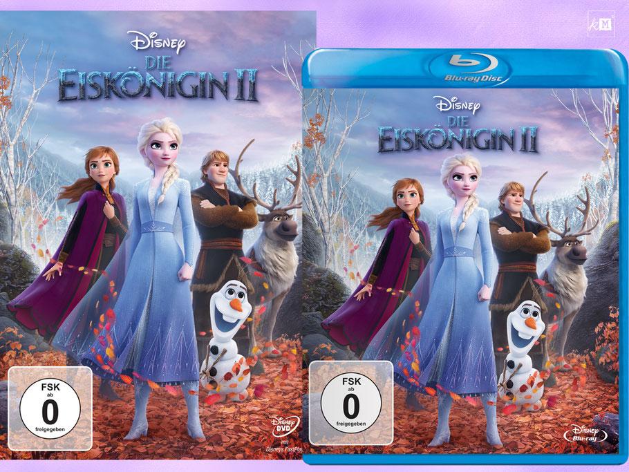 Die Eiskönigin 2 Blu-ray und Digital - Disney - kulturmaterial