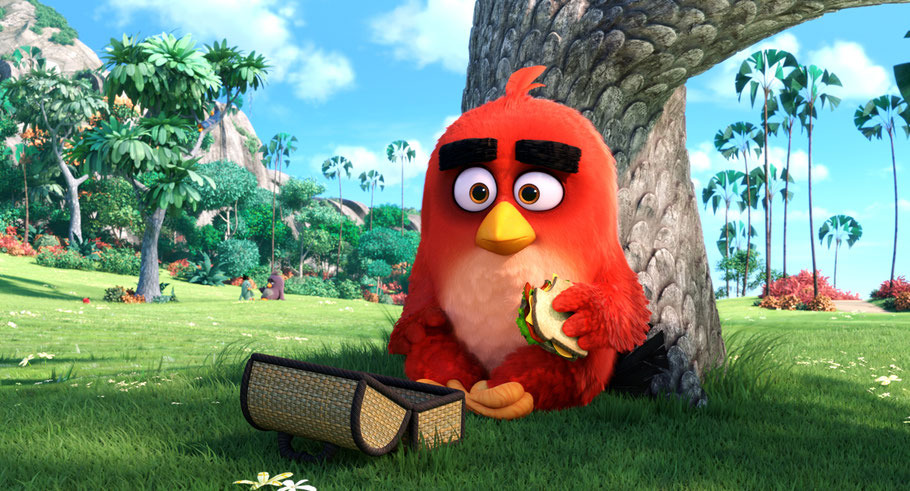 Angry Birds Film - RED - Rovio Entertainment - Sony Pictures - kulturmaterial