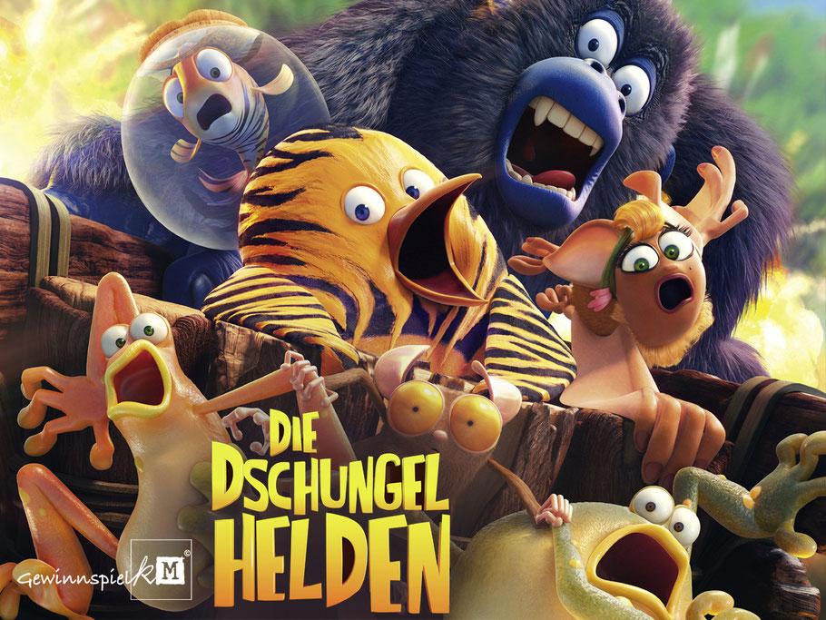 Die Dschungelhelden - Splendid Animation - kulturmaterial