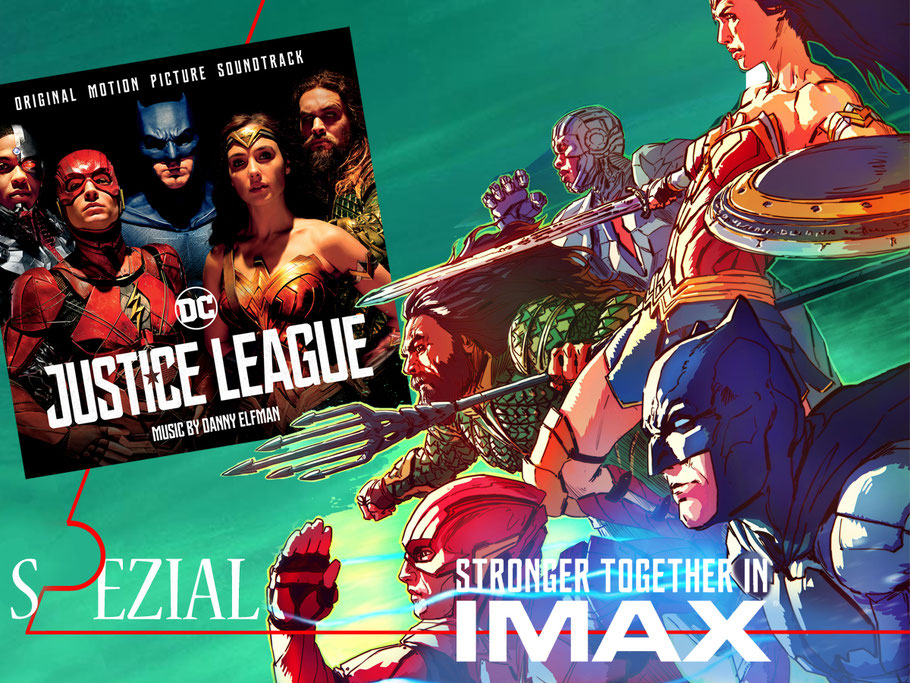Justice-League Soundtrack - Made for IMAX - DC-Comics - Warner Bros - kulturmaterial