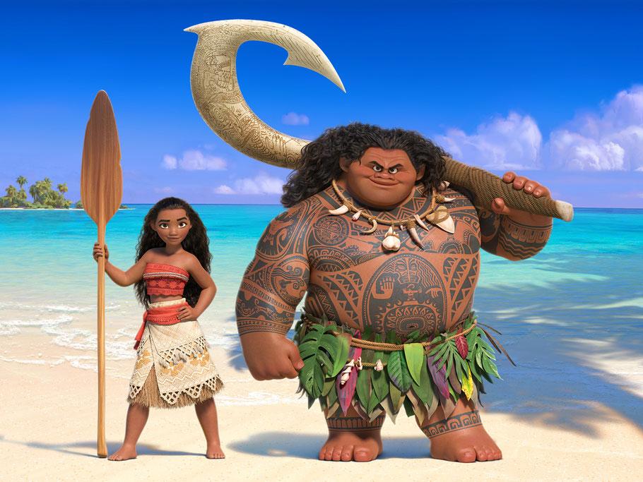 Vaiana - Maui - Disney - kulturmaterial