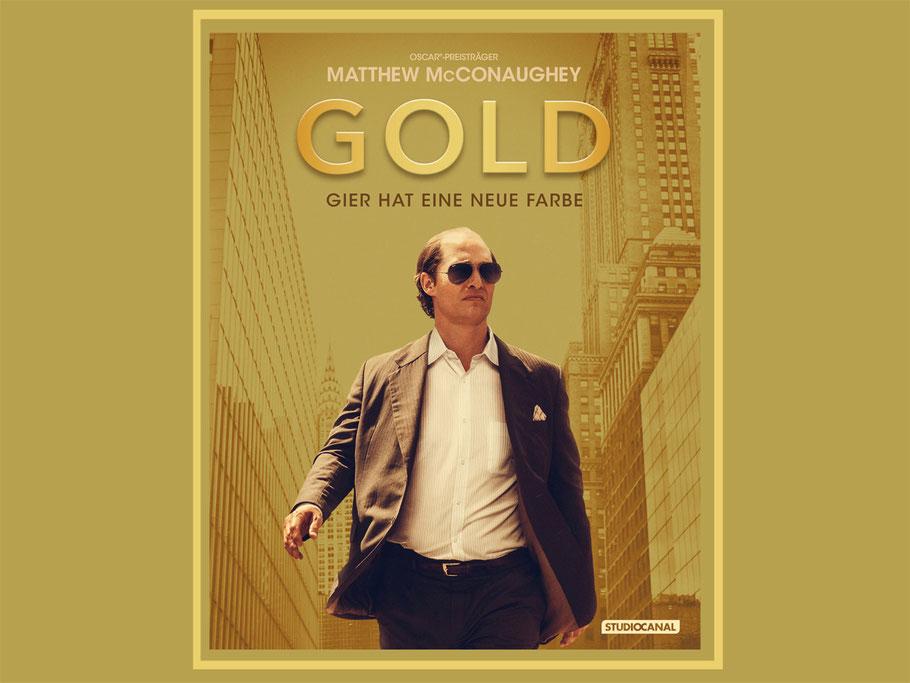 Gold Blu-ray Gewinnspiel - Matthew McConaughey - Studiocanal - kulturmaterial