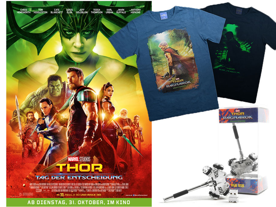 Thor 3 Gewinnspiel - Marvel - kulturmaterial