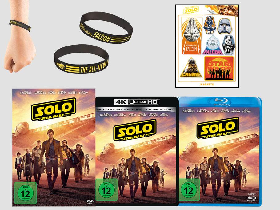 STAR WARS SOLO Blu-ray Gewinnspiel - Lucasfilm - kulturmaterial