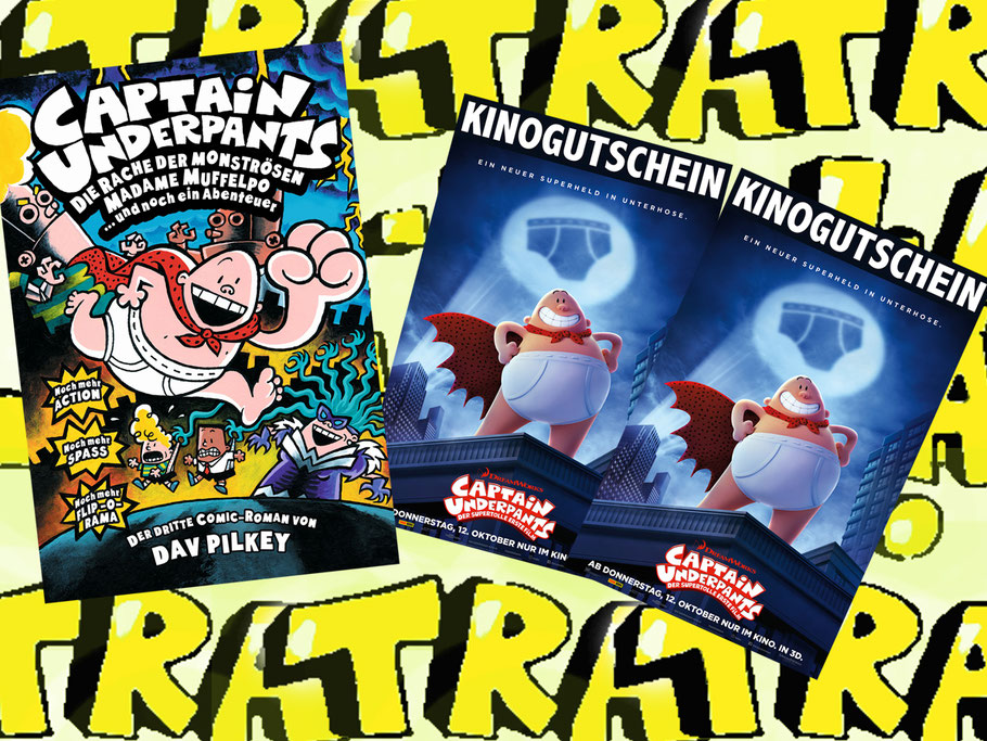 Captain Underpants Gewinnspiel - 20th Century Fox - DreamWorks - kulturmaterial