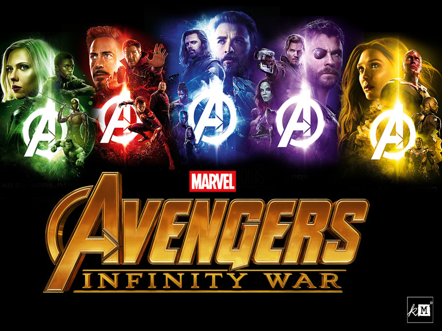 Marvel Avengers Infinity Steine - kulturmaterial