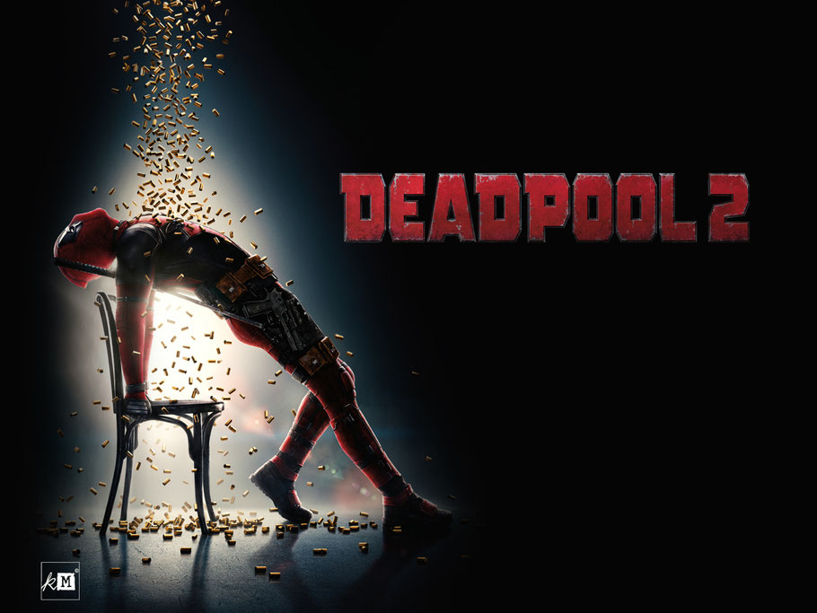 Deadpool 2 - Ryan Reynolds - Marvel - FOX - kulturmaterial