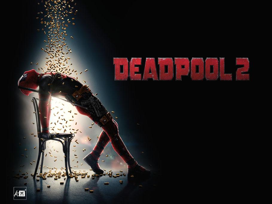 Deadpool 2 - Ryan Reynolds - Marvel - FOX - kulturmaterial
