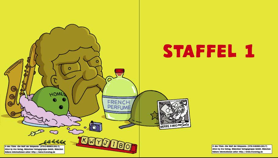 Simpsons Buch-Die Welt der Simpsons-Riva-MVG-Staffel 1-kulturmaterial