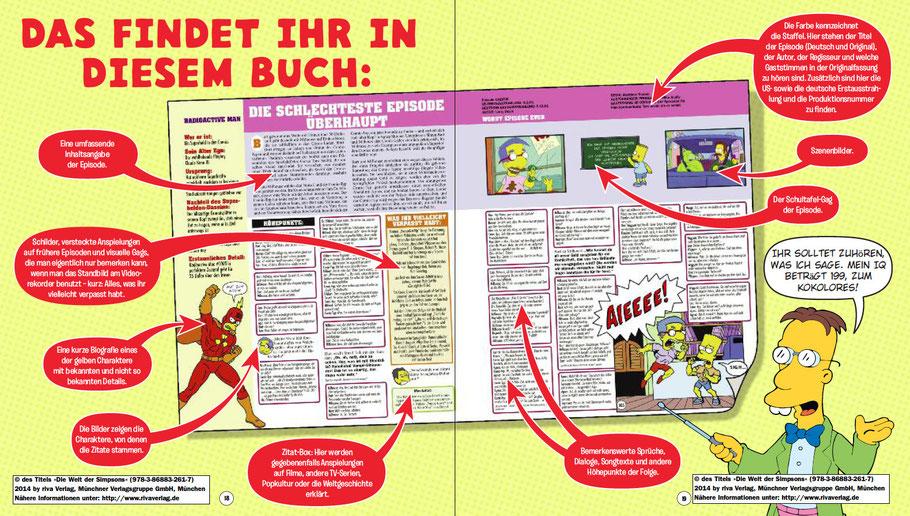 Die Welt der Simpsons-Seitenaufbau-riva-MVG-kulturmaterial