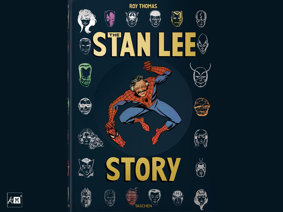 The_Stan_Lee_Story_Biografie_Roy_Thomas_Taschen_kulturmaterial