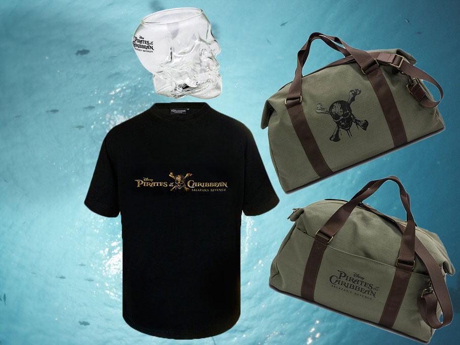 Pirates Of The Caribbean 5 - Disney - kulturmaterial - Fanartikel Gewinnspiel