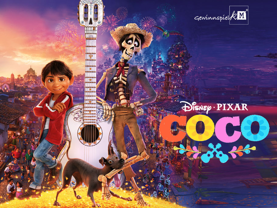 Coco Disney Pixar - kulturmaterial