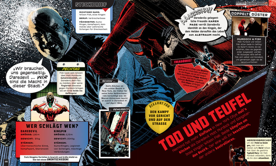 Marvel Bücher - Absolut Alles Was Du Wissen Musst - Dorling Kindersley - kulturmaterial - Daredevil