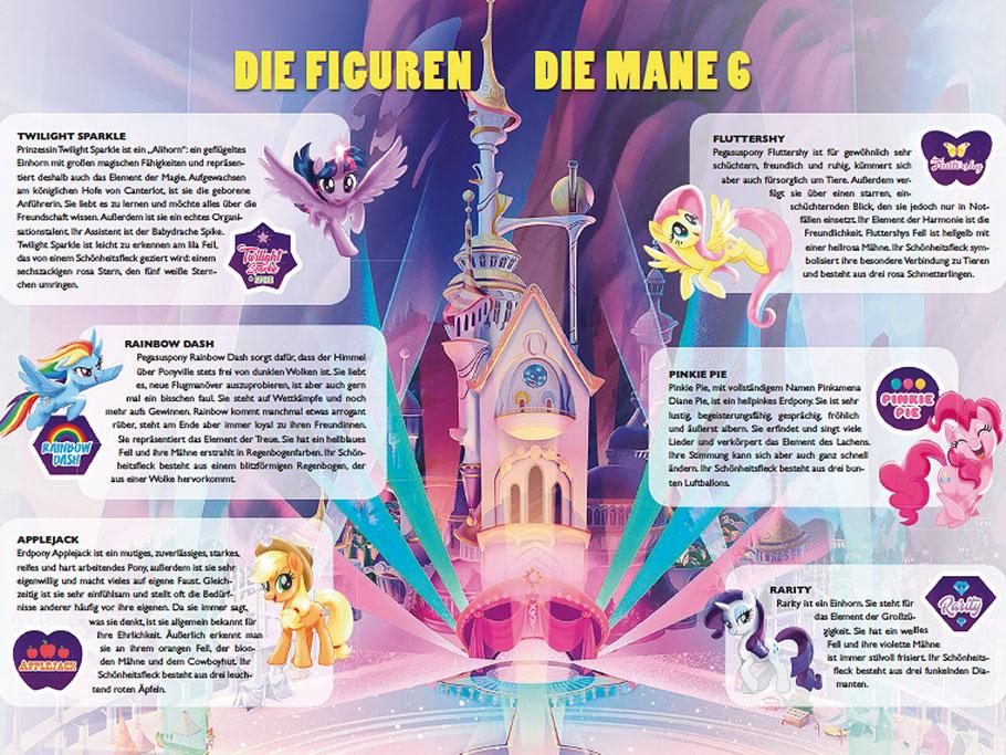Lauren Faust - My Little Pony - Mane 6 - TOBIS - kulturmaterial