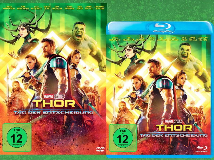 Thor Tag Der Entscheidung Ragnarok Blu-ray - Marvel - kulturmaterial