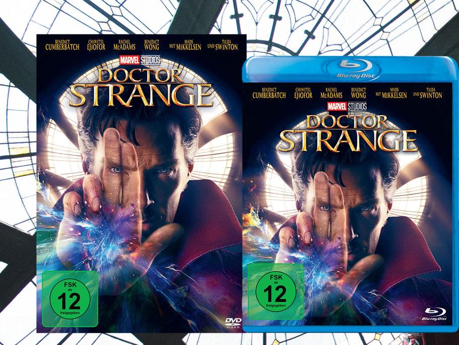 Doctor Strange Blu-ray DVD Gewinnspiel - Marvel - Disney - kulturmaterial