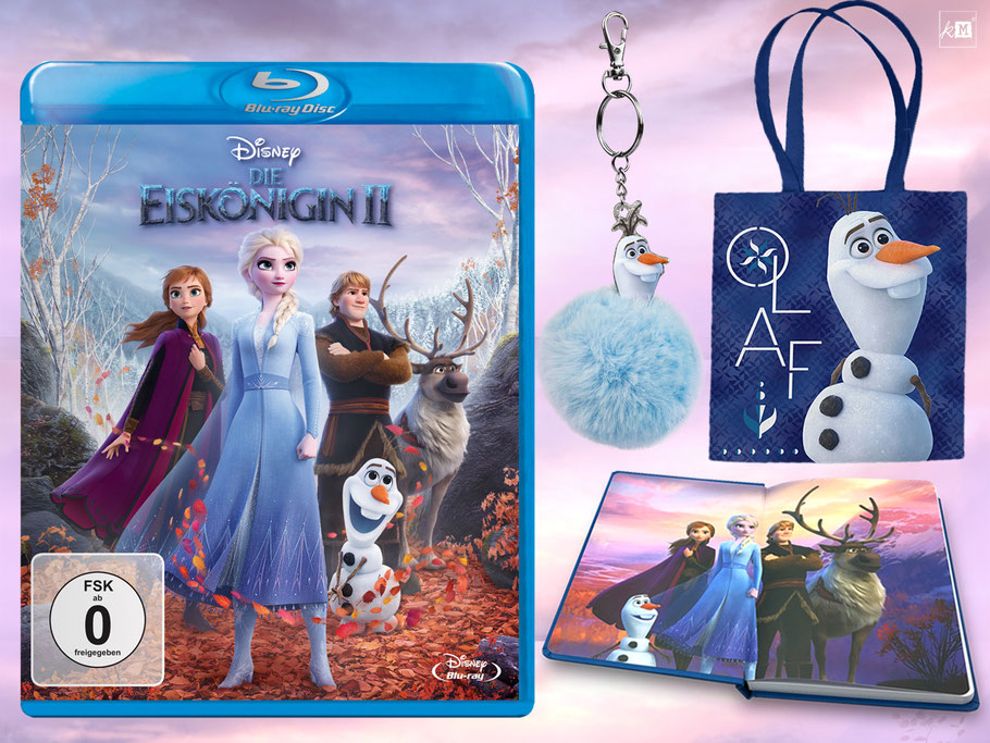 Die Eiskönigin 2 Blu-ray und Digital Gewinnspiel - Disney - kulturmaterial