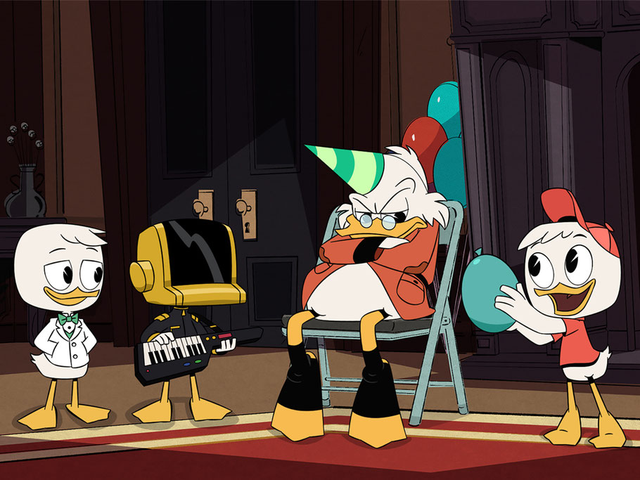 DuckTales - Dagobert Duck - Tick Trick Track - Disney Channel - kulturmaterial